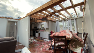 Florida family survives EF-2 tornado by hunkering down inside closet
