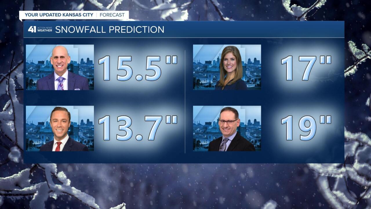 41 Action News Team Winter Snow Predictions