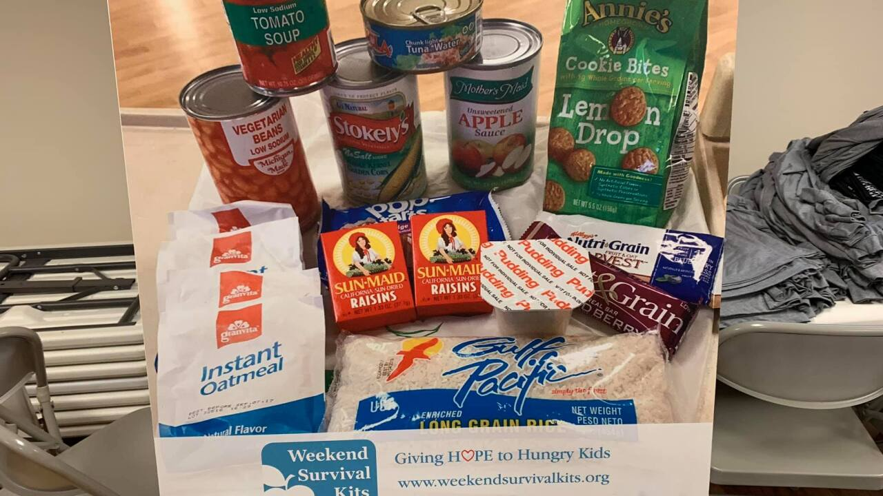 FOX 47 Pays it Forward With Weekend Survival Kits
