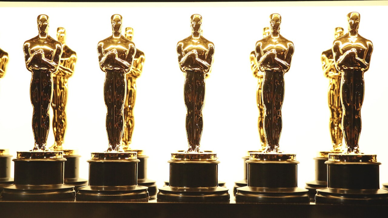 Oscar trophies awards