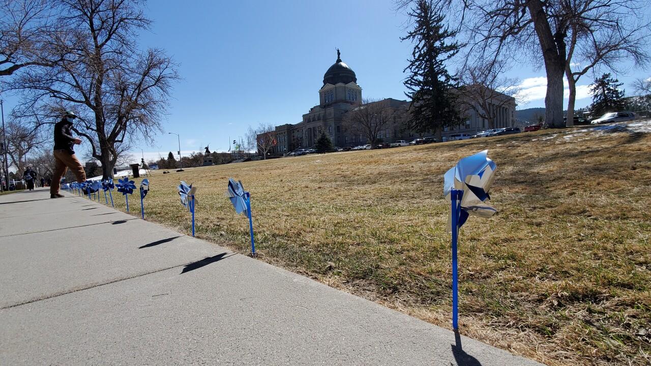 Capitol Pinwheels