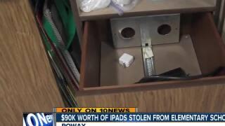 $90k worth of iPads stolen from elementary school