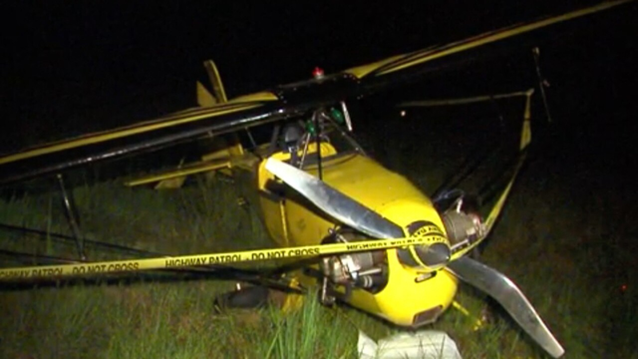 Two small planes crash in Brown County