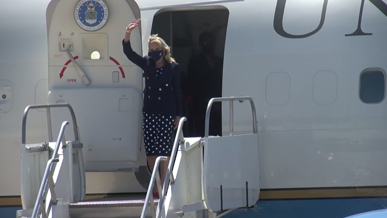 First Lady Dr. Jill Biden Visits Delano