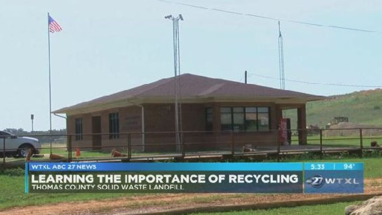 Community learns ways to reduce waste in Thomas County