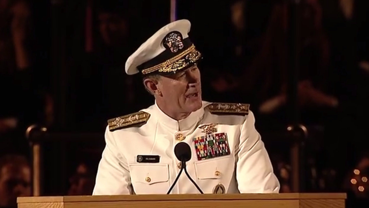 VIDEO: SEAL commander delivers 10 life lessons in UT commencement speech