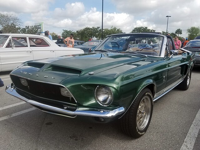 Muscle cars spotted at Cars & Coffee event at the Palm Beach Outlets on May 8