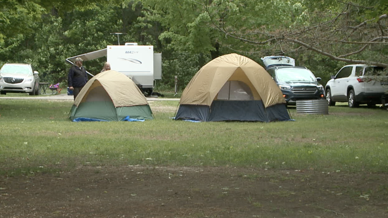Local, state campgrounds prepare for possible record breaking number of visitors this summer