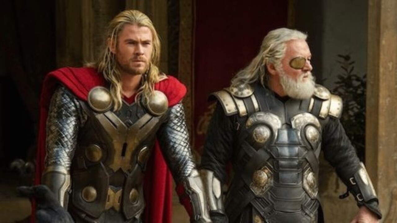 'Thor Ragnarok' swings a mighty hammer at home