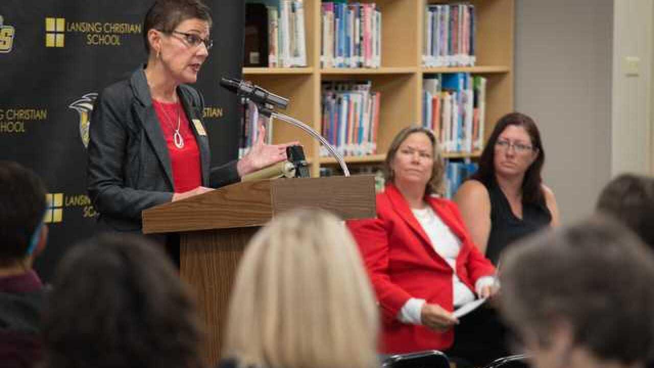 Lansing school named MI HEARTSafe School