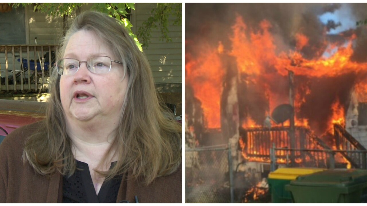 'Thank you Lord,' 60-year-old grandma escapes burninghome