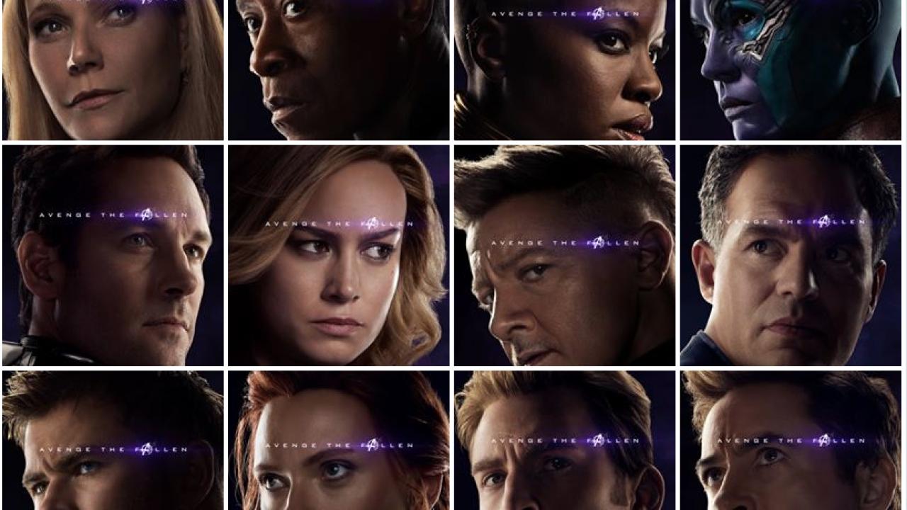 Marvel Studios Releases 32 New Character Posters For Avengers Endgame