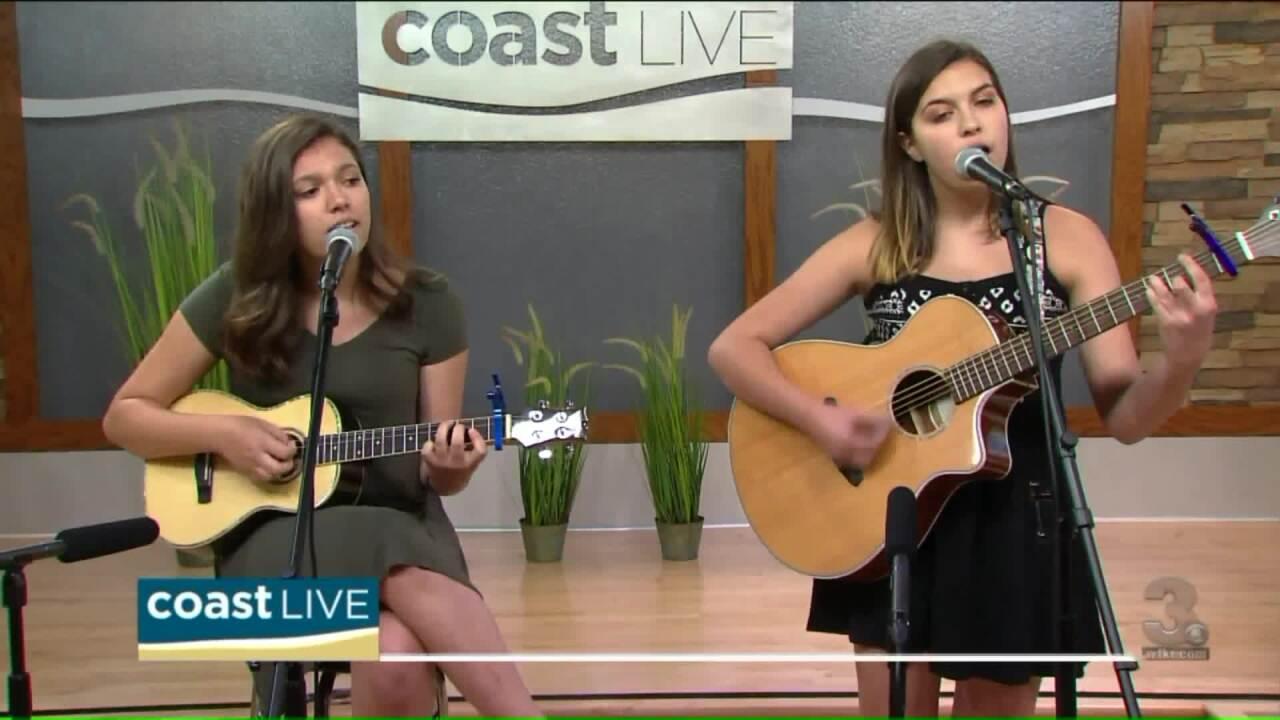 Local Music Spotlight with The Smith Sisters -Dakota and Jasper on CoastLive