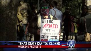 Austin capitol demonstrations