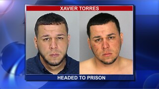 Xavier Torres is headed to prison after violating his probation.