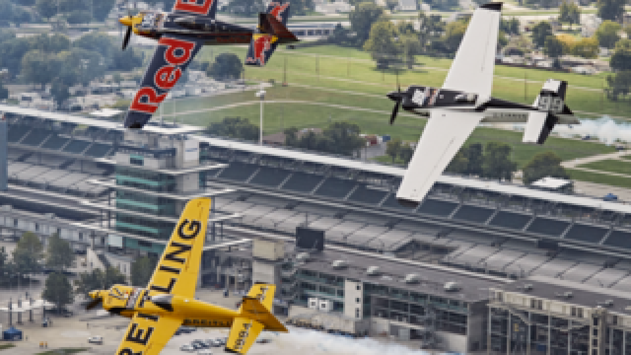 PHOTOS: Planes arrive for Red Bull Air Race