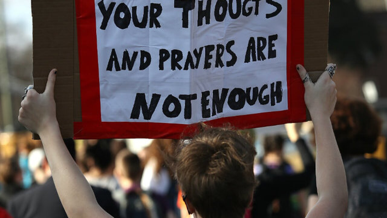 Students plan walkouts to protest gun violence
