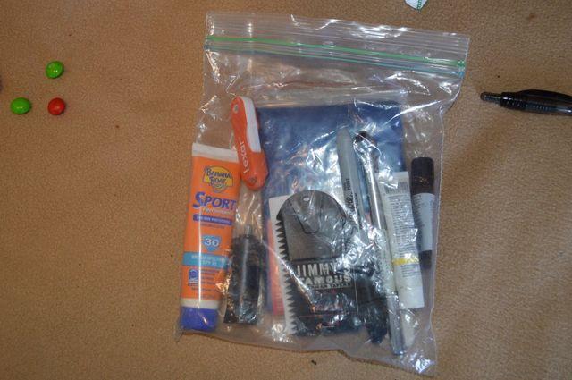 Stolen items from San Diego auto theft spree