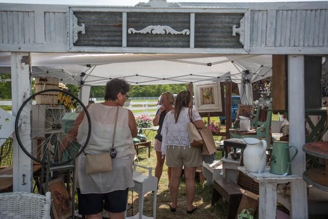 Lebanon hosts Charm at the Farm vintage market