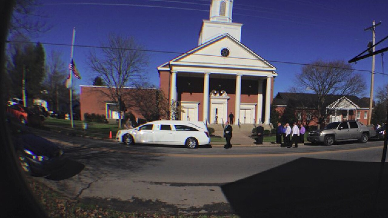PHOTOS: Funeral Held For 7-Year-Old Gabbi Doolin