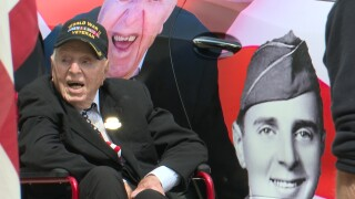 101-year-old World War II veteran honored during visit to Helena