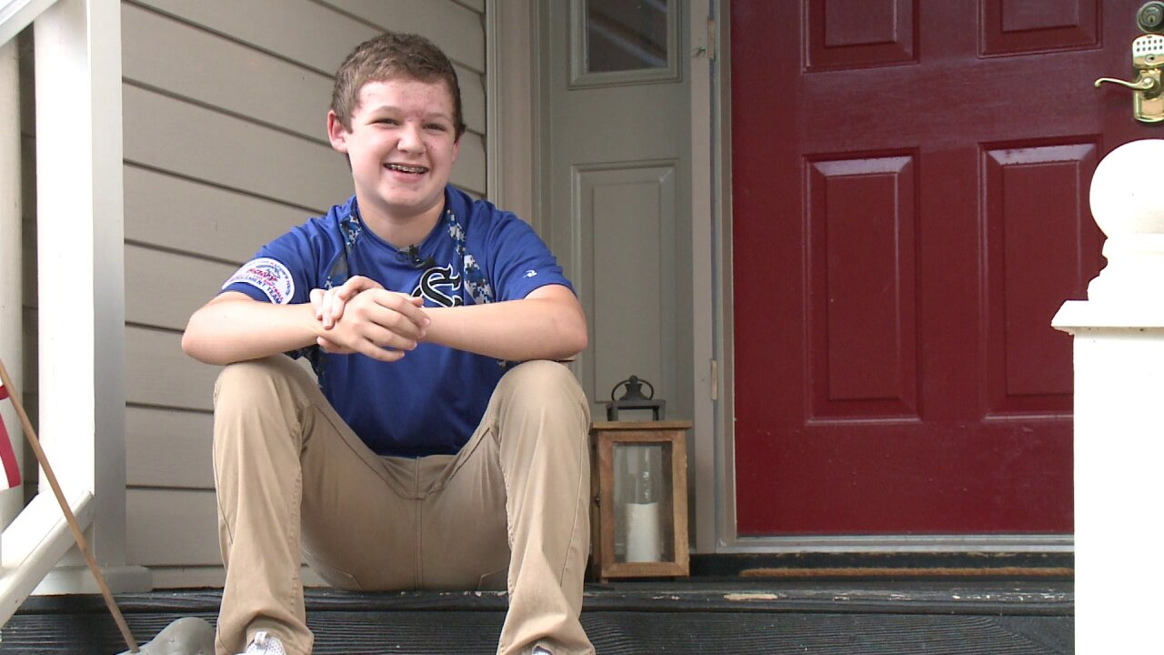 Power of patriotism: Chesapeake boy accomplishes goal of inspiring neighborhood to fly American flags