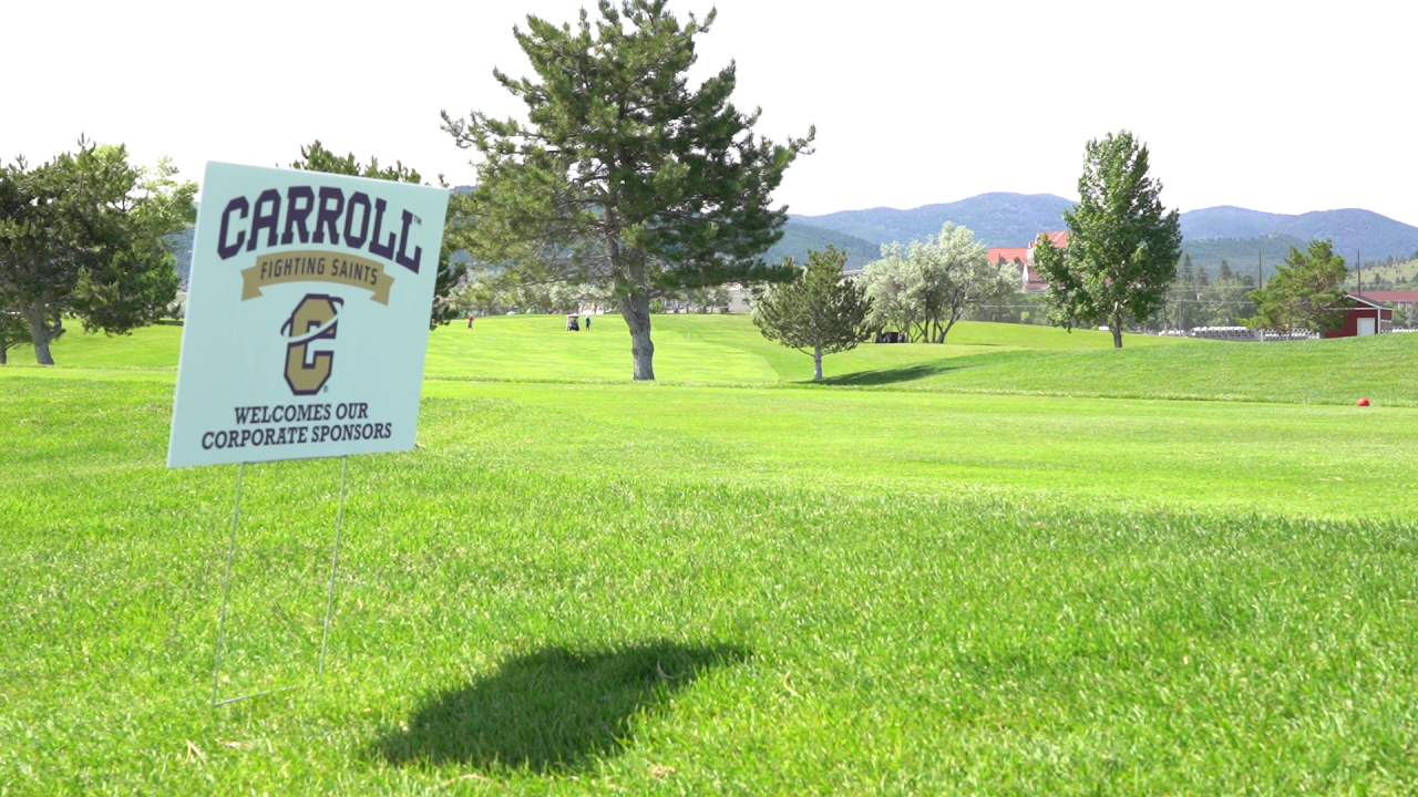 Carroll College appreciation golf scramble