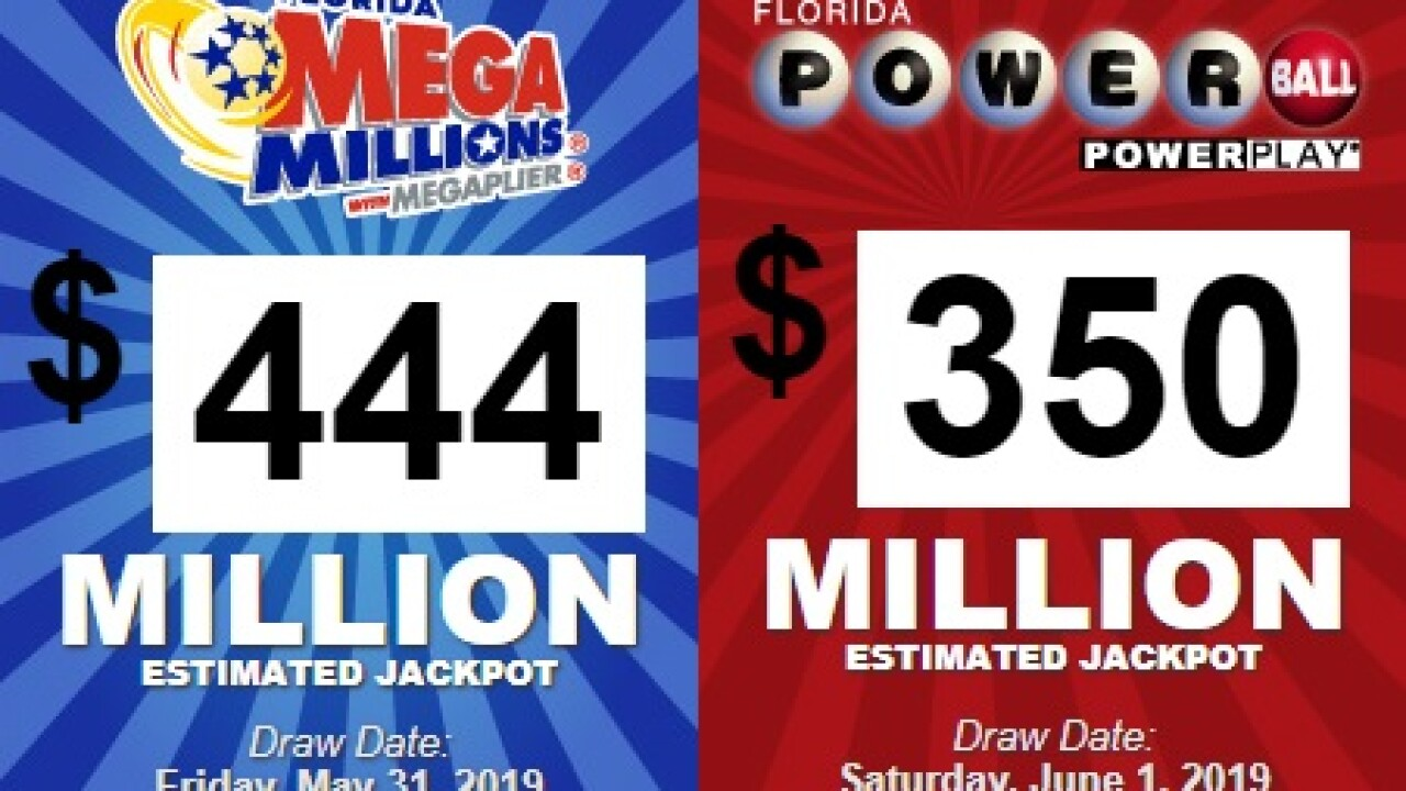 More Than 400 Million On The Line In Mega Millions Drawing This Weekend