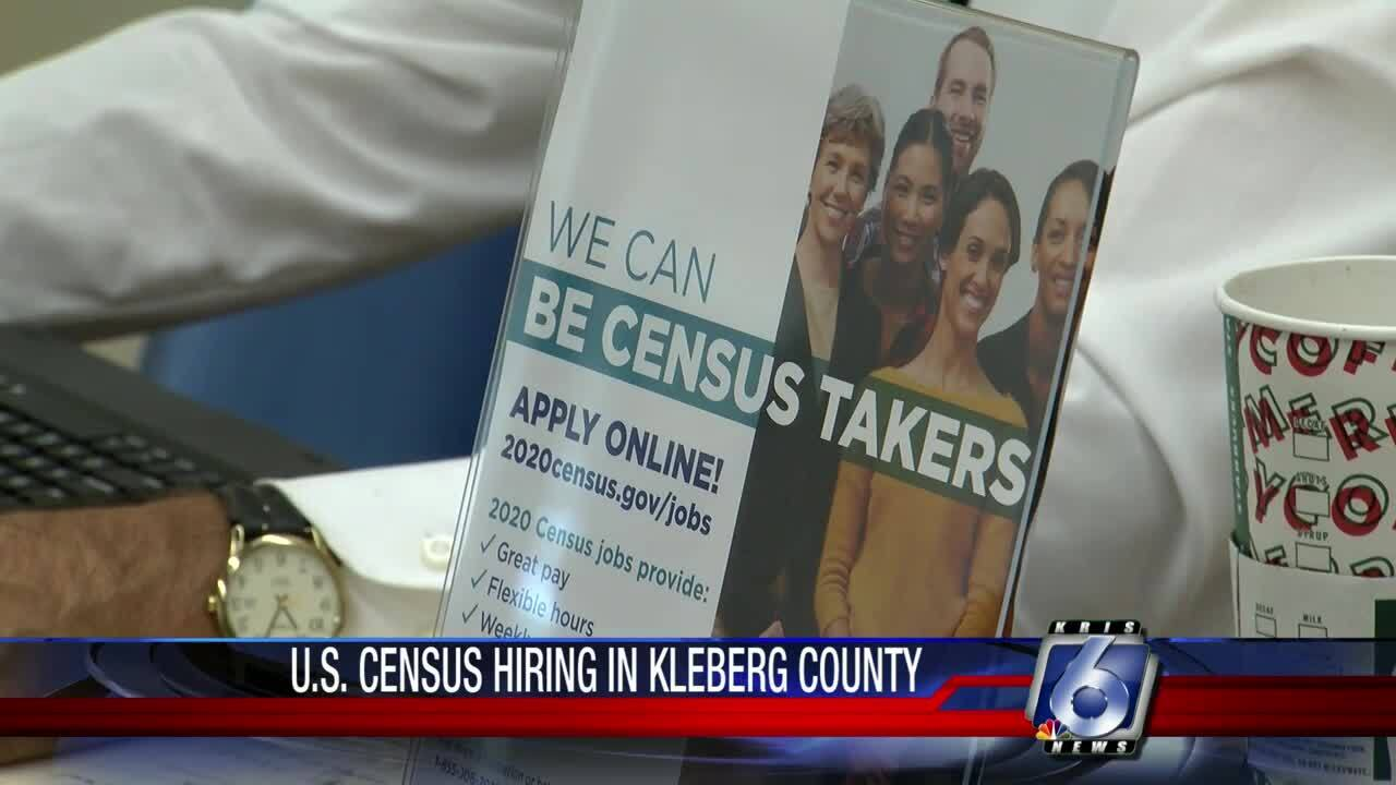 Census looking for workers in Kleberg County