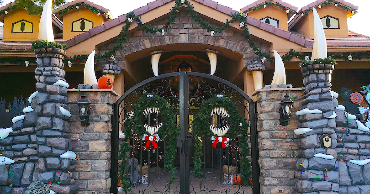 Check out this 'Nightmare Before Christmas' house in Arizona