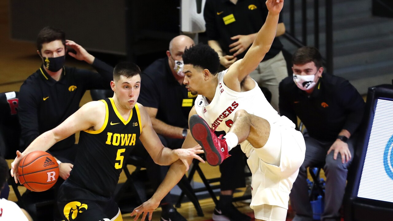 Iowa Rutgers Basketball
