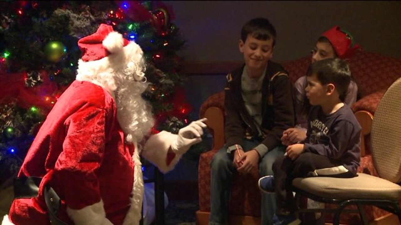 'Quiet Santa' makes Christmas tradition manageable for kids with autism, sensory disorders