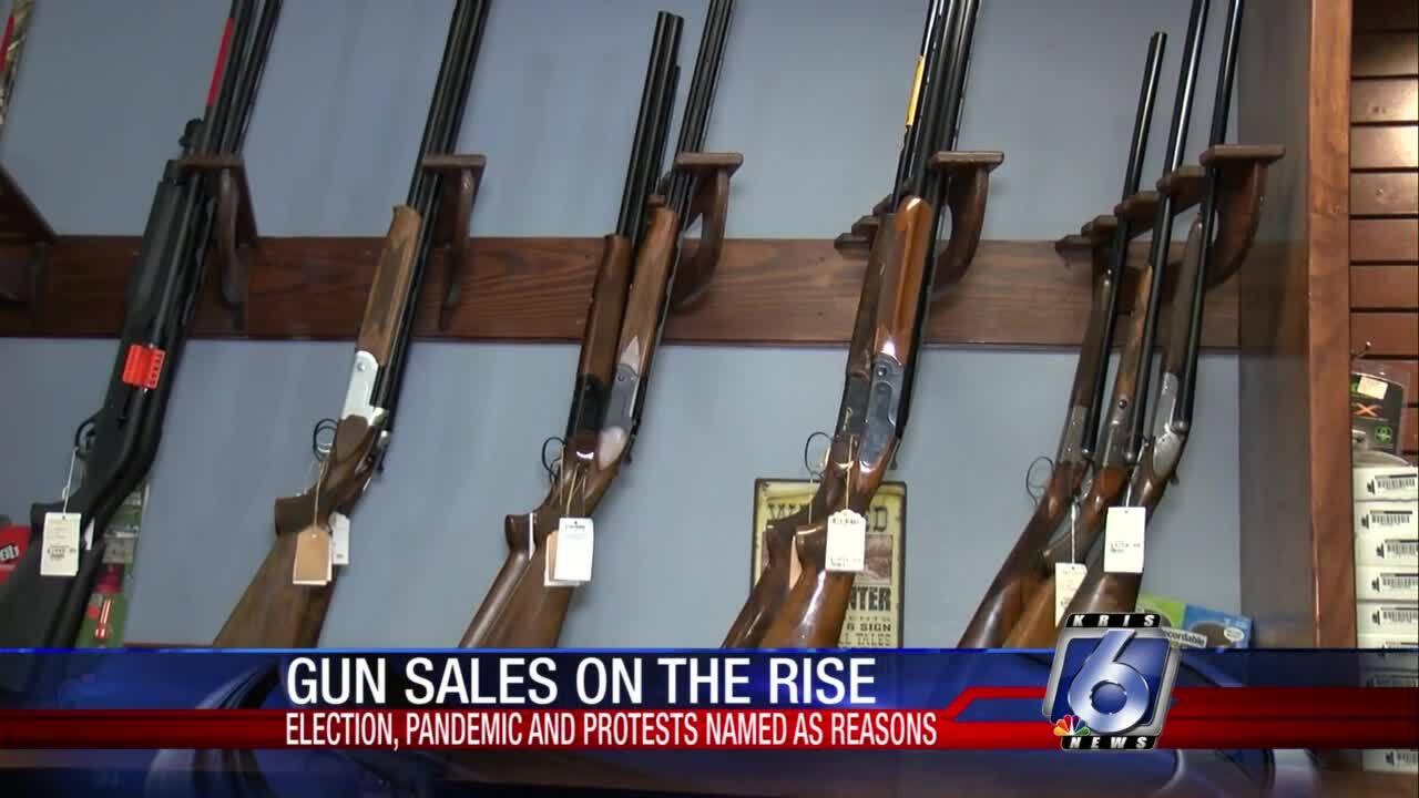 Gun sales skyrocketing across nation