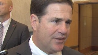 Arizona Gov. Ducey won't join Trump for rally