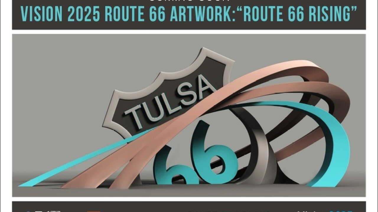 Construction on Route 66 sculpture to begin