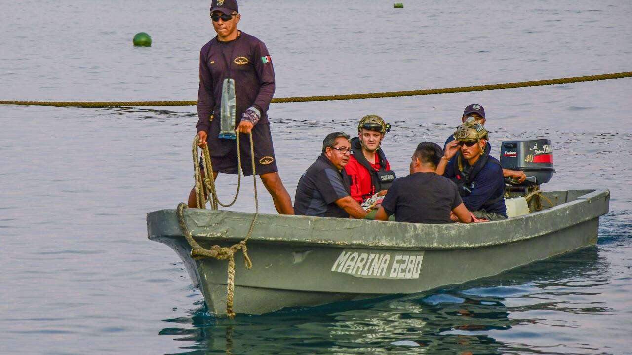 563d RQG Airmen rescue injured Mexican sailors