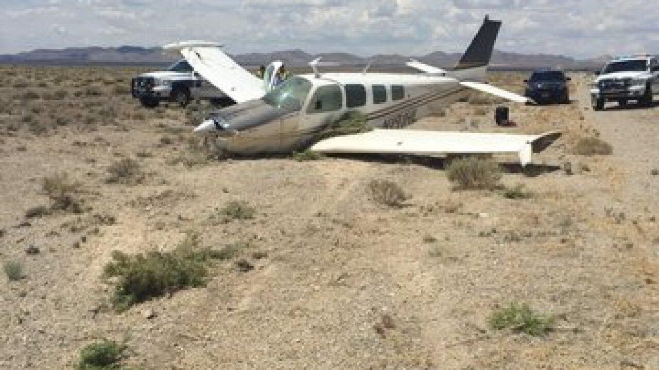 Plane crashes near Tonopah Airport