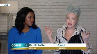 Singer-Songwriter Cyndi Lauper on how she balances psoriasis and a career on CoastLive