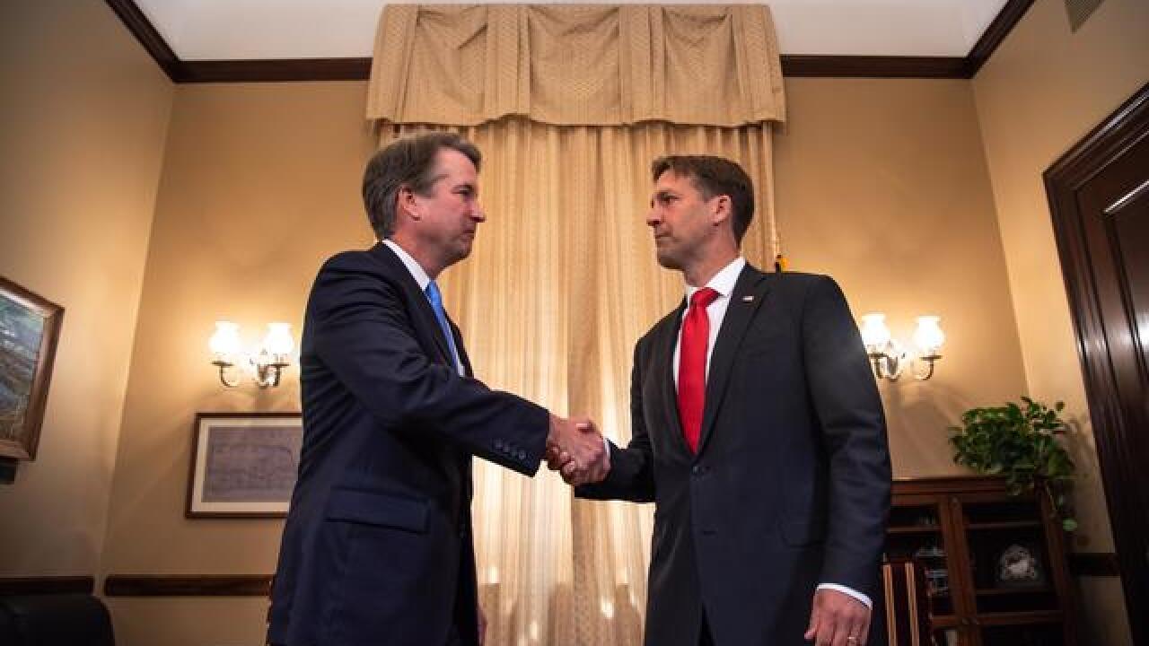 Sen. Ben Sasse meets with Supreme Court nominee Judge Brett Kavanaugh