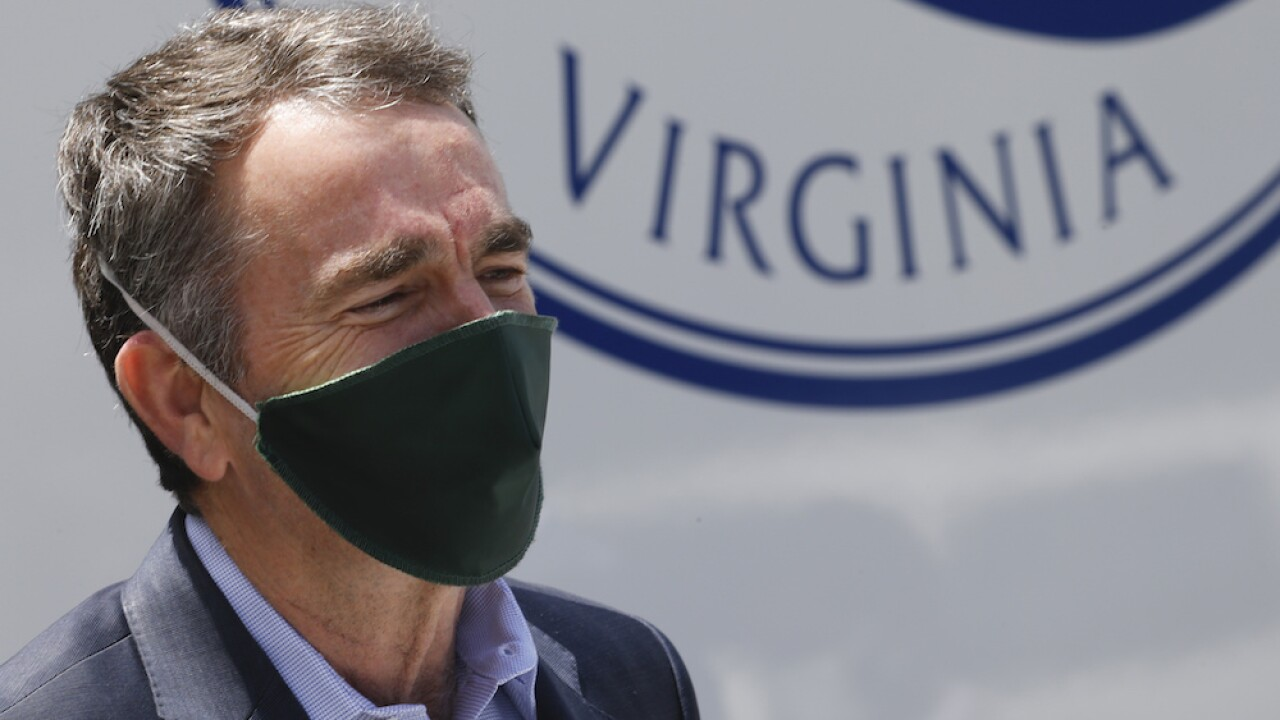 Virginia Gov. Ralph Northam making masks a requirement when inside public buildings beginning Friday