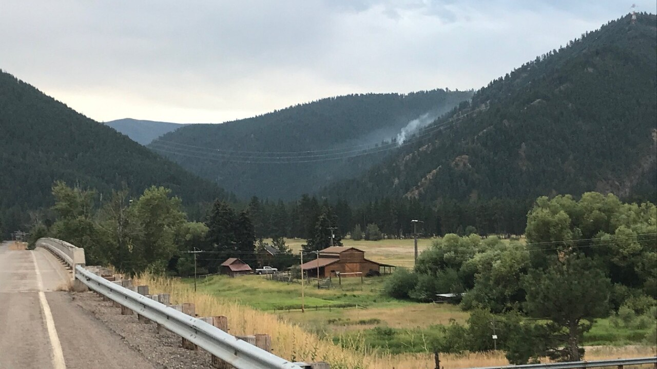 Lightning sparks small wildfire east of Missoula