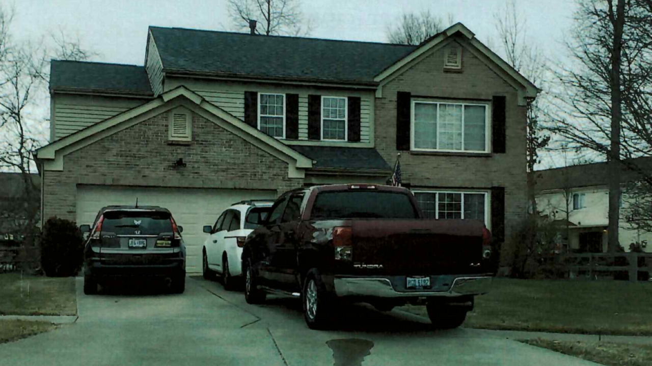 Federal agents seized firearms and ammunition from the Morrow, Ohio home of Bennie and Sandra Parker