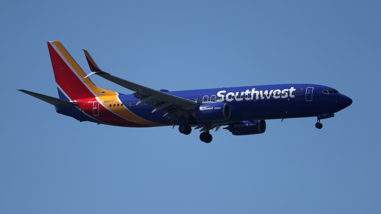 Southwest Posts Q1 $200 Million Revenue Loss Due To Boeing MAX Groundings