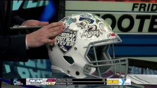 Friday Football Fever: Playoff Edition - Week 1 Helmet Stickers