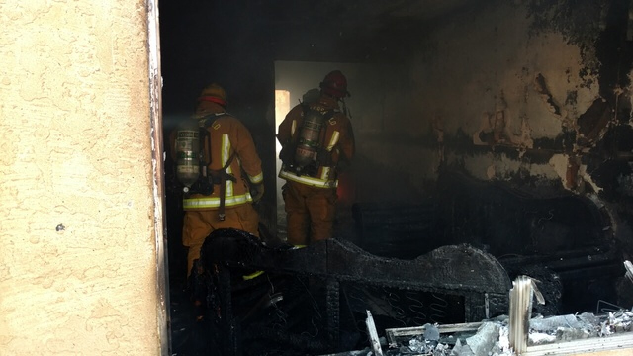 15 displaced in south Bakersfield fire