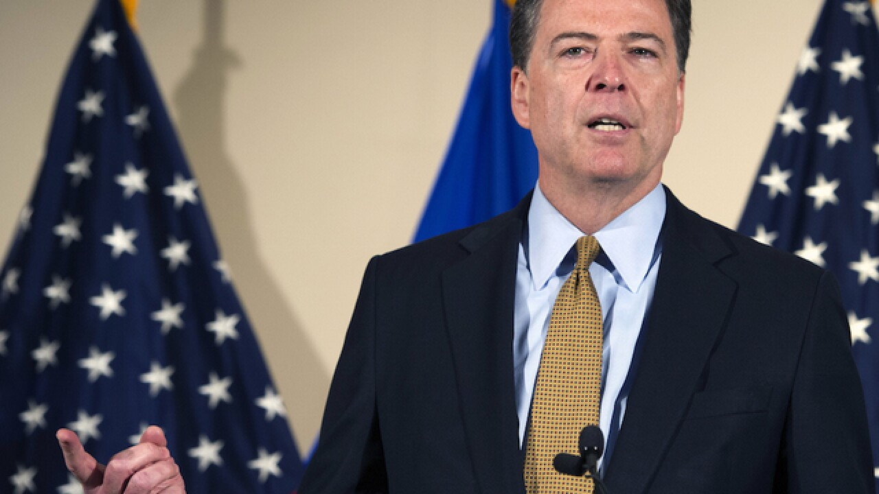 FBI wants 'adult conversation' on encryption, Comey says