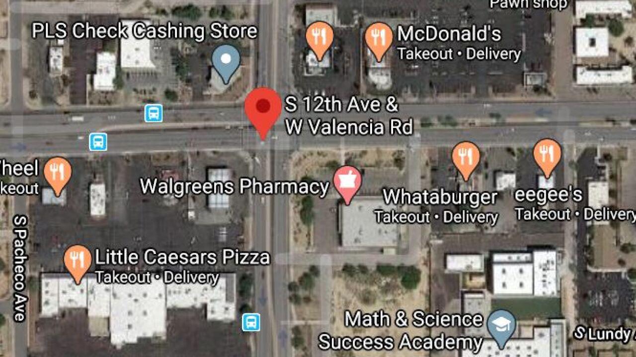 Tucson police say a man was barricaded near 12th and Valencia Thursday morning. Photo via Google Maps.
