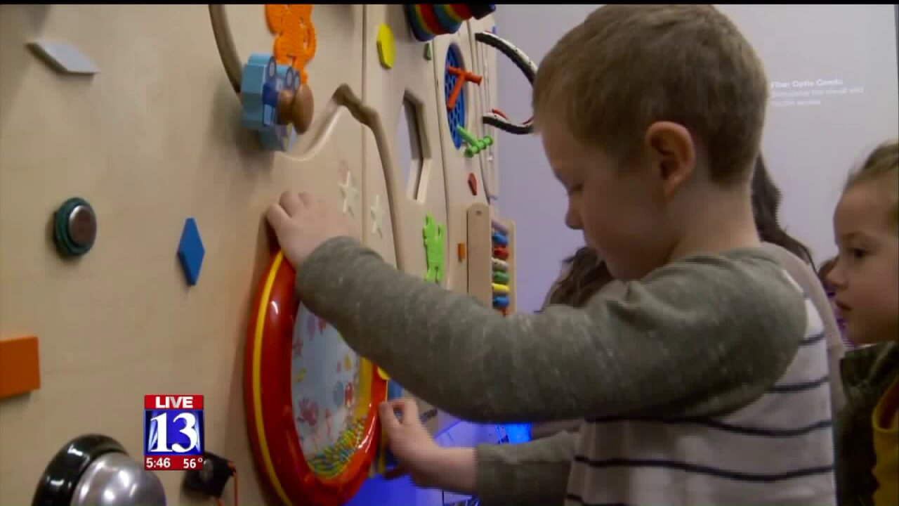 Vivint Smart Home Arena previews new sensory room for those on the autismspectrum