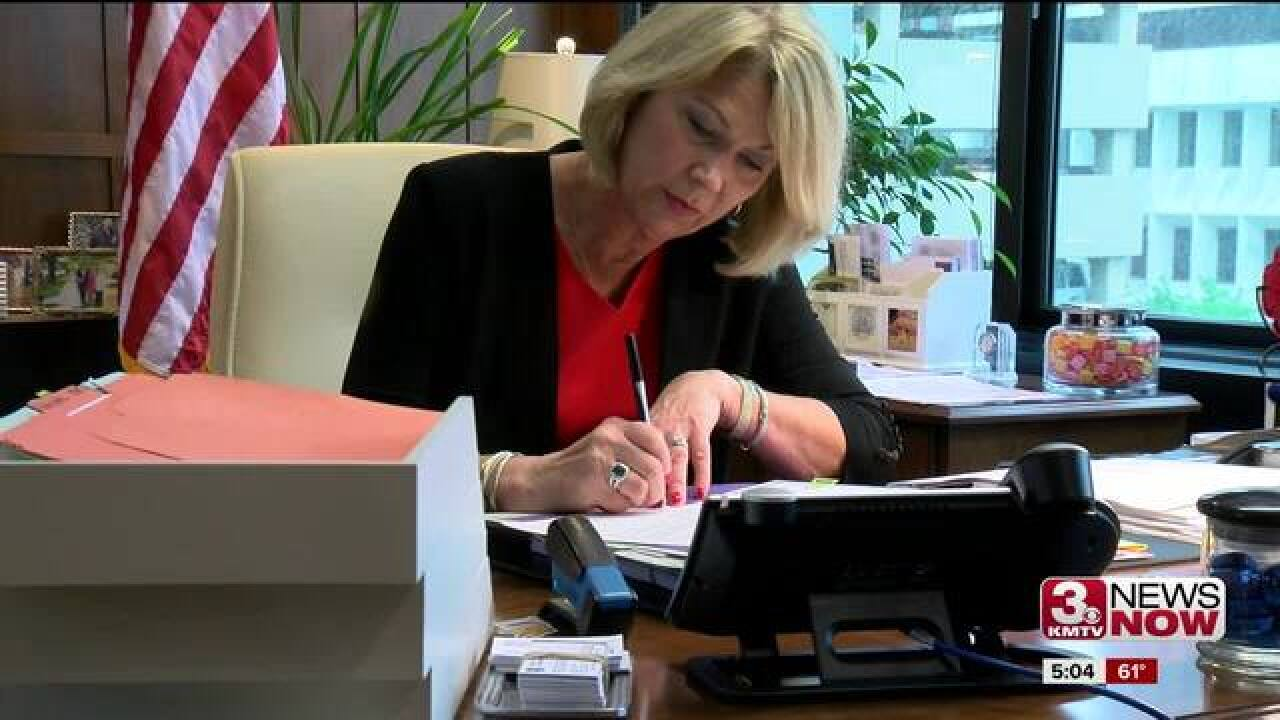 Mayor Jean Stothert talks about future after win