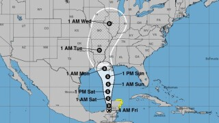 State of emergency declared in Louisiana with Cristobal landfall expected early Monday